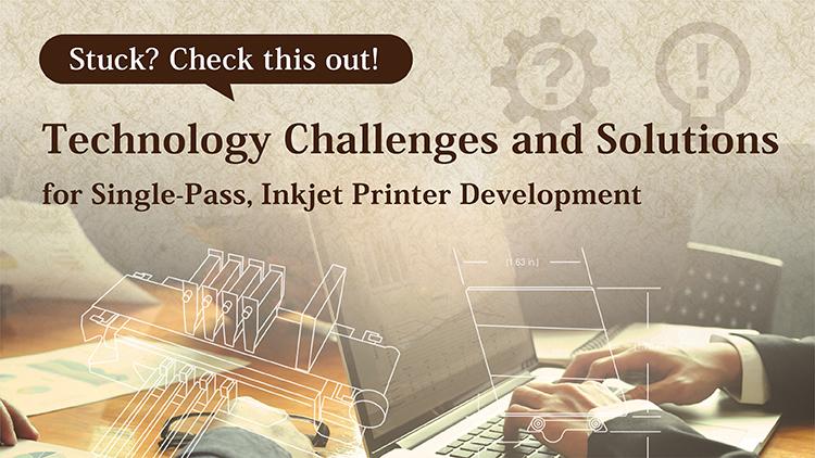 Development tips for single pass production inkjet system